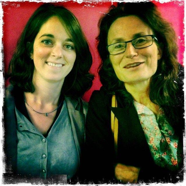 Anne-Claudine Oller et Sandrine Garcia