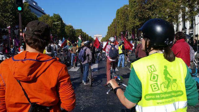 Première journée sans voiture à Paris