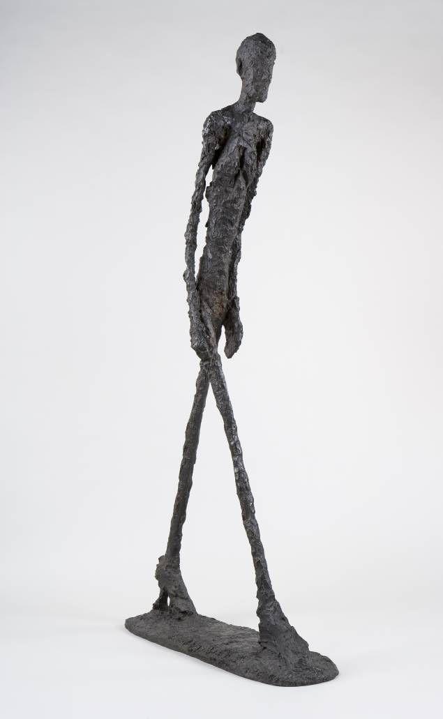 L'homme quimarche Giacometti