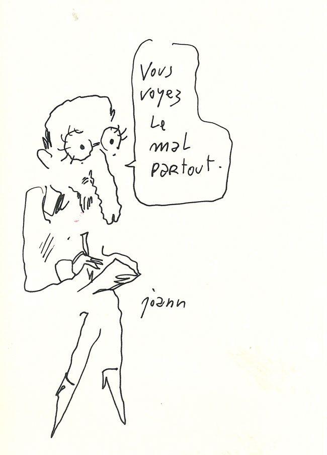 Dessin de Joann Sfar 7