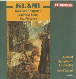 Klami rapsodie carelienne op 15 Kalevala op 23  Paysages marins CHANDOS 9268