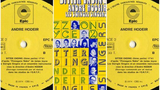 Photo - montage pochette Bitter Ending de André Hodeir MEA 603*380