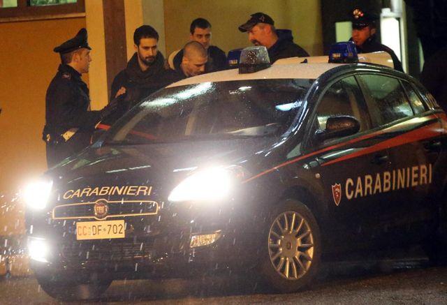 La police italienne, sur les traces de la ndrangheta...