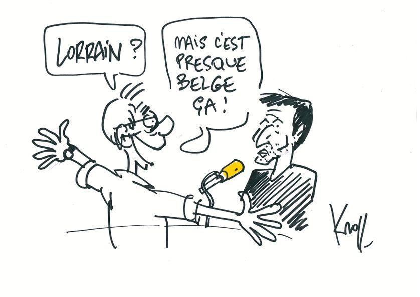 Pierre Kroll face à Pierre Deladonchamps.