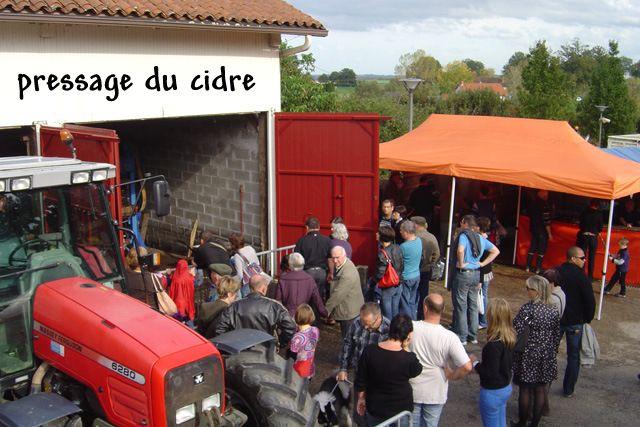 Fête du cidre à Flavignac (Haute Vienne)