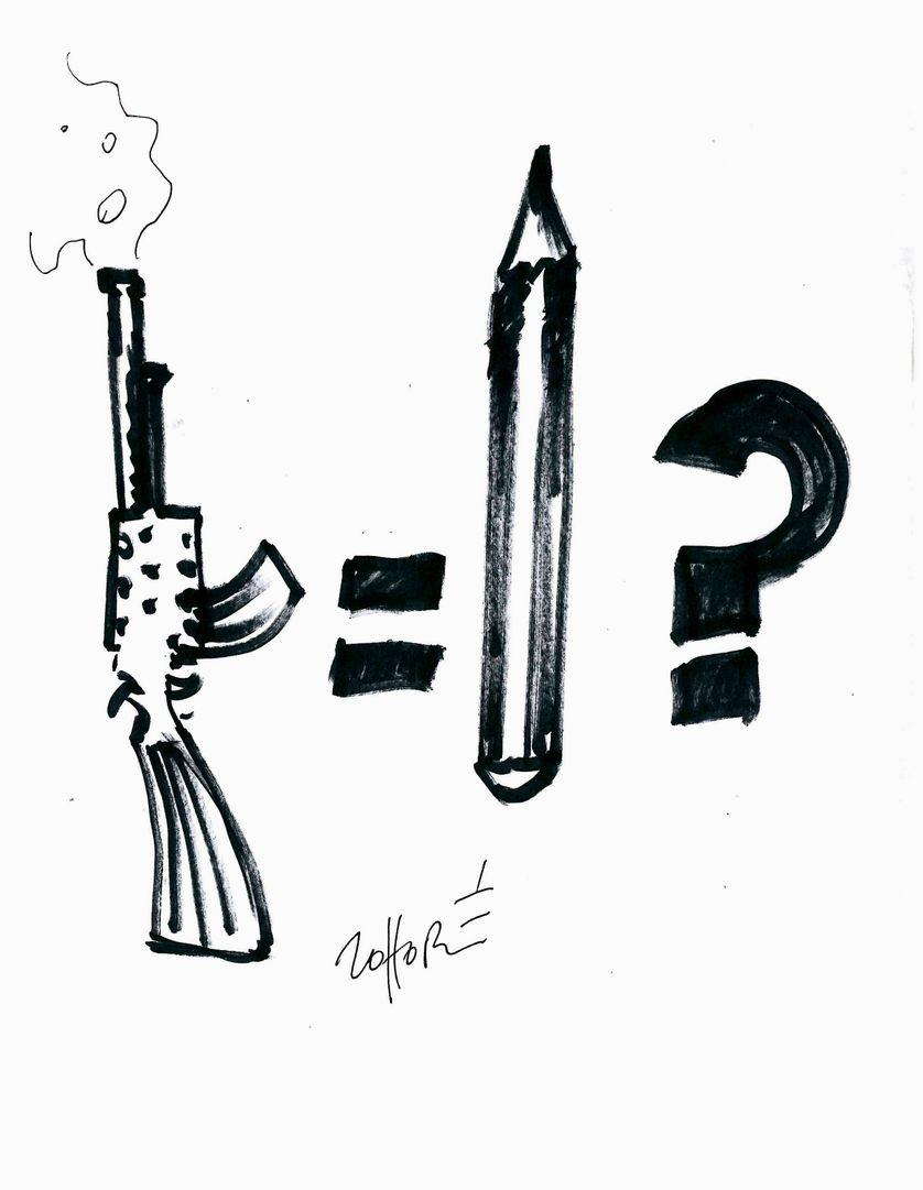 Cartooning for Peace : le dessin de presse dans tous ses états  par Lassane Zohoré 1