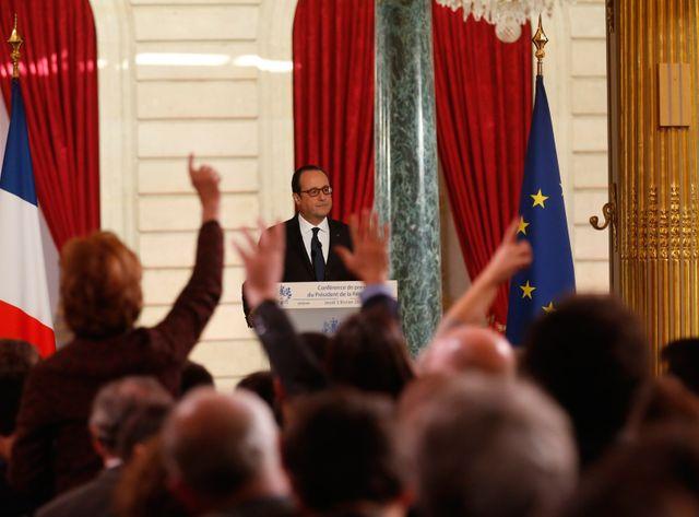 Conférence de presse Hollande