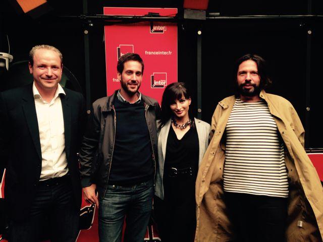 Grégory Dorcel, Gérome Lorenzo, Ava Courcelles, Philippe Azoury