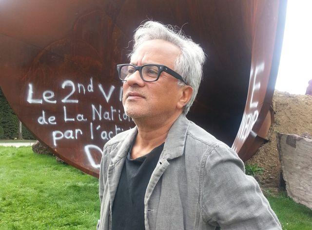 Anish Kapoor a maintenu l'exposition de son oeuvre