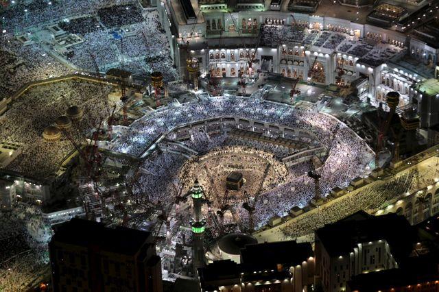 La Grande mosquée est en pleins travaux d'agrandissement