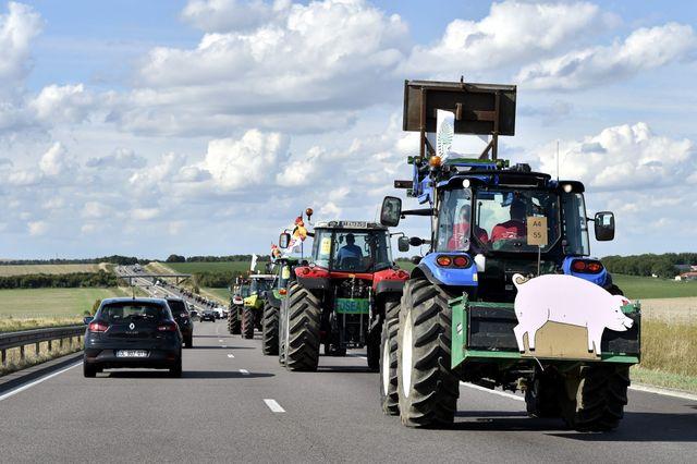 Les agriculteurs sont mobilisés à Paris ce jeudi