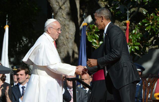 Le Pape François à la Maison Blanche