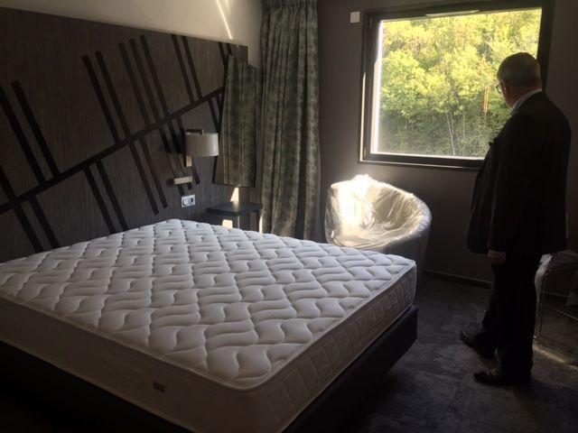 Les chambres sont presque prêtes au Quality Hôtel