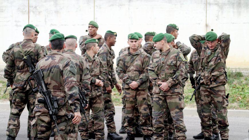 Un groupe de légionnaires (photo d'illustration).