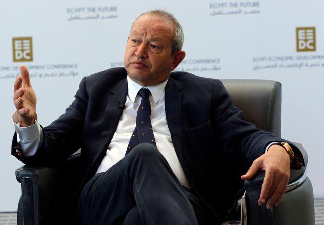 Le millionnaire égyptien Naguib Sawiris