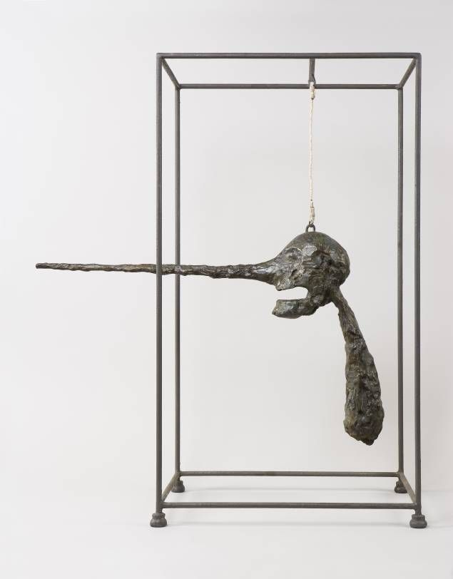Le nez Giacometti