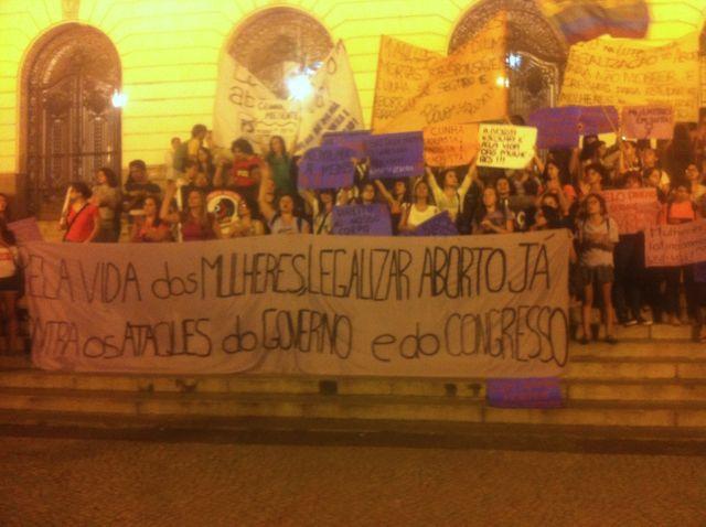Manifestation avortement brésil