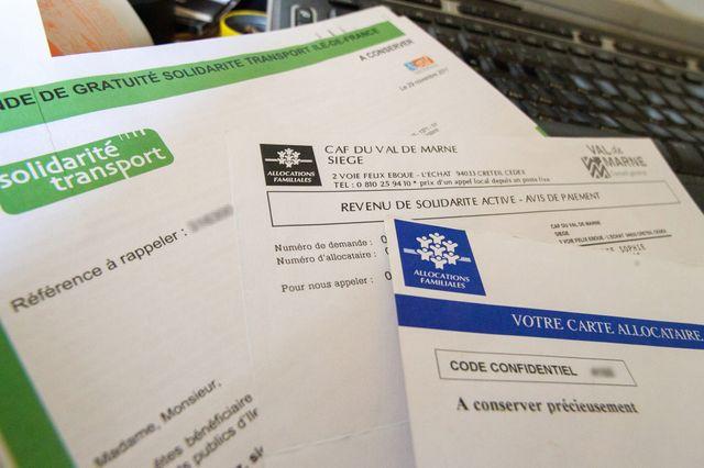 documents pour les demandes de transport gratuit en ile de france pour les beneficiaires du RSA.