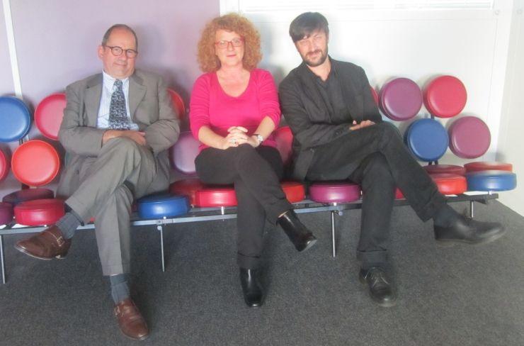 Philippe Laurent, Agnès Tricoire et Vincent Baudriller