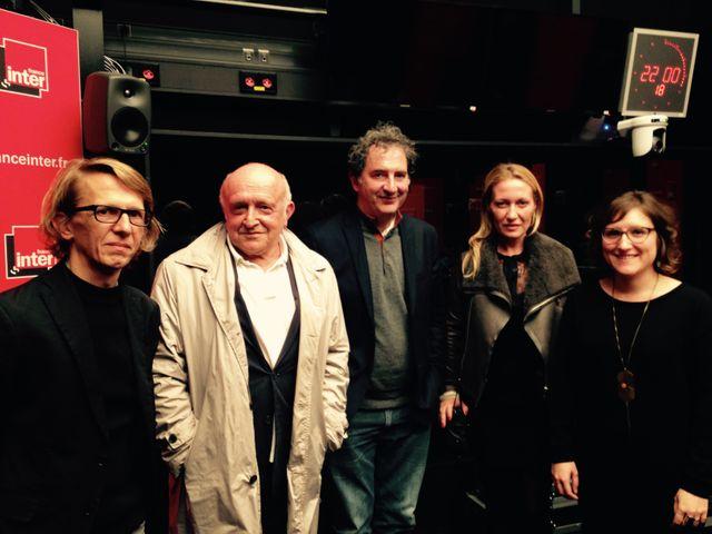 Bastien Lallemant, Bertrand Lavier, François Morel, Diana Widmaier Picasso, Emilie Bouvard