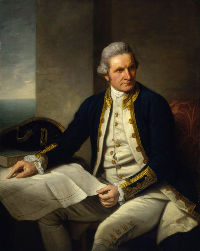 """Capitaine James Cook"" par Nathaniel Dance (1775)"