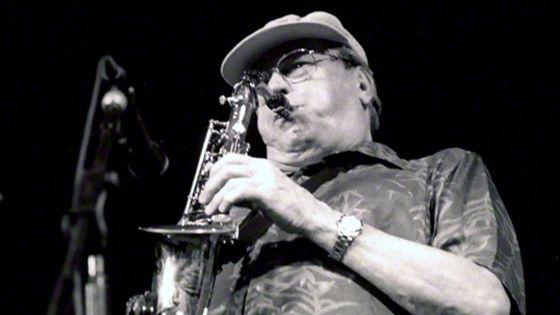Le jazzman Phil Woods, Brecon Jazz Festival, 2000 © Heritage Images/Corbis