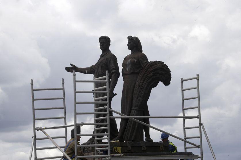 statues soviétiques à Vilnius