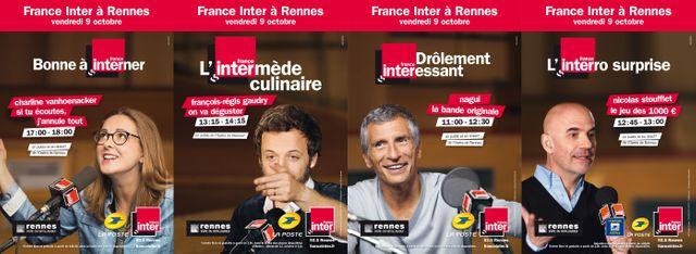 France Inter à Rennes