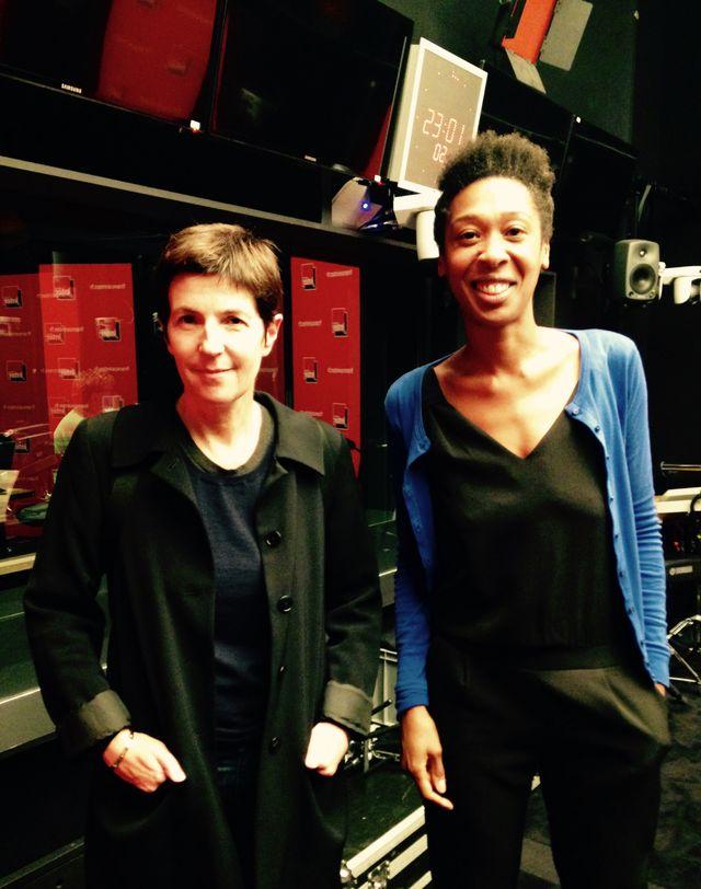 Christine Angot et Tania de Montaigne