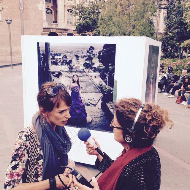 Delphine Blast et Brigitte Patient au Map
