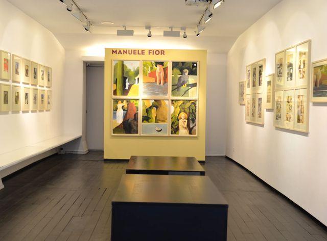 Exposition Manuele Fior Galerie Martel