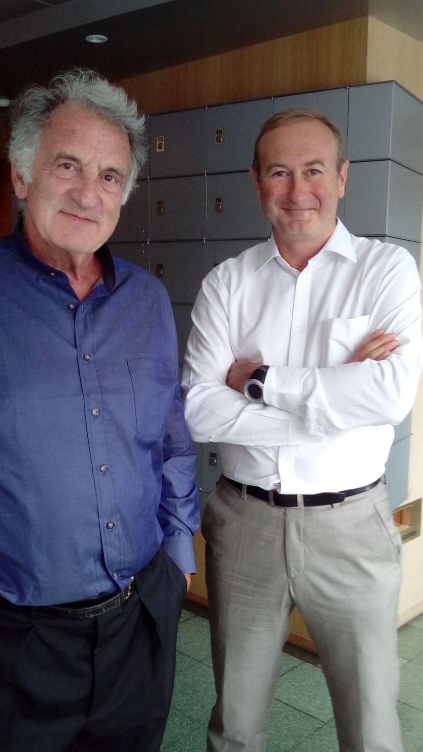 René Frydman et Jerôme Bataille
