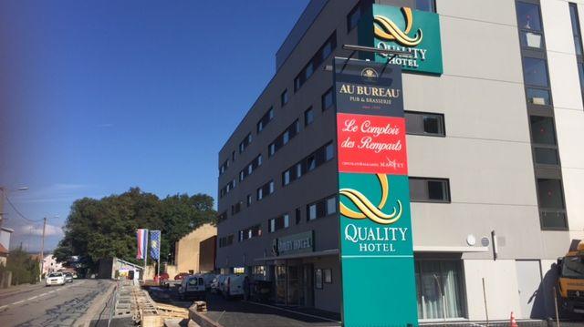 Le Quality hôtel ouvre cette semaine.