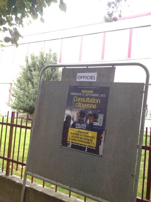 Beauvaisvote pour l'armement ou non de sa police municipale