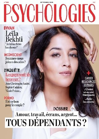 Psychologie magazine octobre 2015