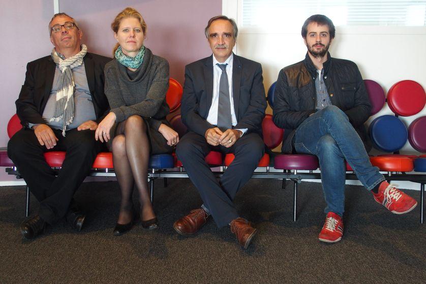 Christian Lage, Cécile Bargues, Bruno Sire et William Martinet