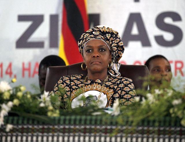 Grace Mugabe, 6 décembre 2014, première Dame du Zimbabwe