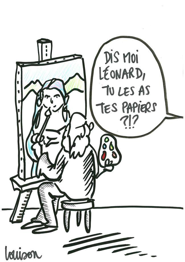 Louison dans du Grain à moudre, dessin 3