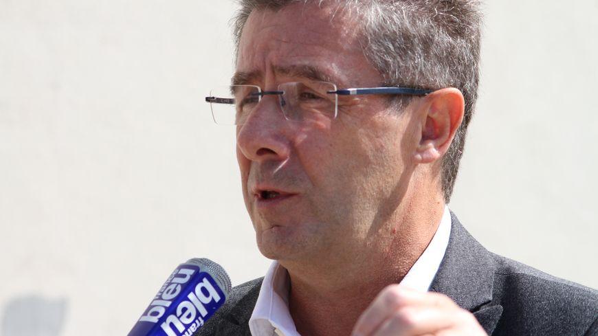 Antoine Audi, maire de Périgueux et tête de liste de la droite et du centre aux élections régionales en Dordogne