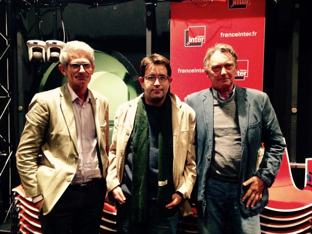 Charles Tesson, Adrien Gombeaud et Patrick Maurus