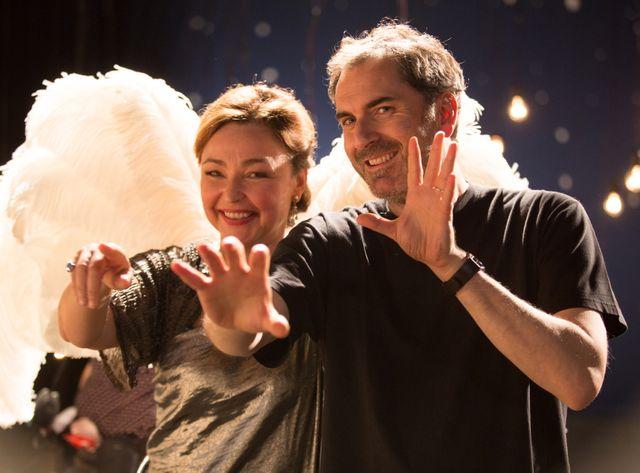 Catherine Frot et Xavier Giannoli