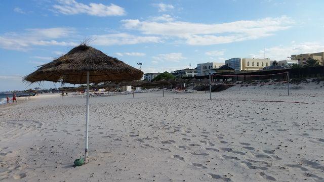 Les plages désertes de Sousse