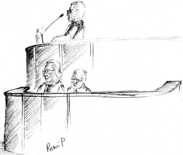 Nicolas Bonnemaison et ses avocats par Rémi Pierre