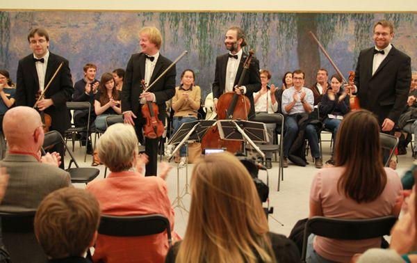 Le Zemlinsky Quartet (© Victor Tribot Laspière / France Musique)