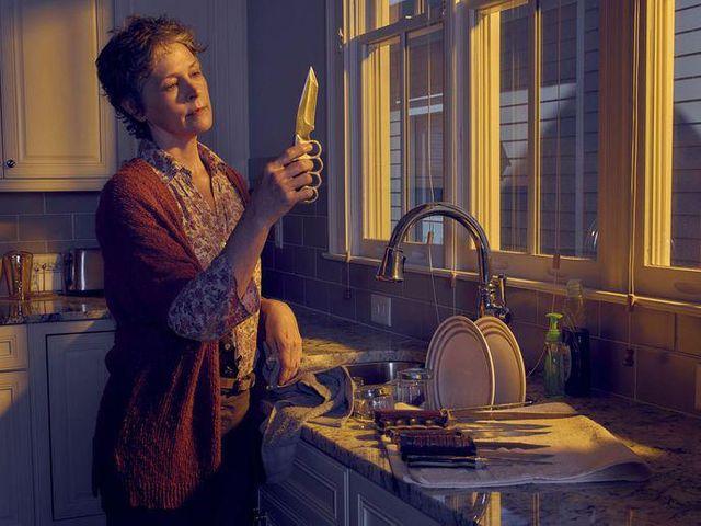 """Melissa Suzanne McBride dans la saison 6 de """"The Walking Dead"""""""