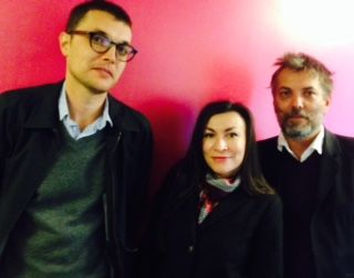 Alexandre Dimos, Laure Limongi et Christophe Fiat