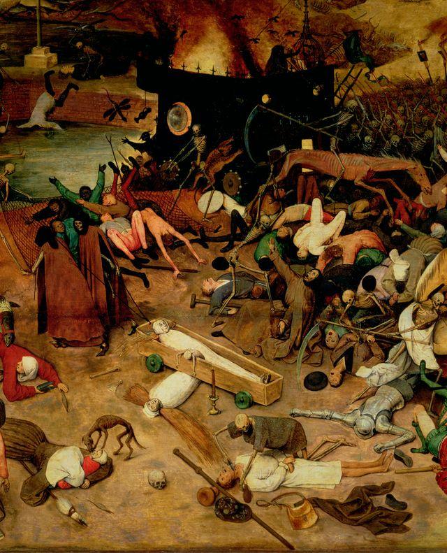 "Détail du ""Triomphe de la mort"" de Brueghel"