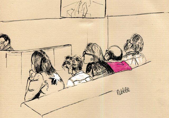 Instant d'audience par Mathilde Beaufils