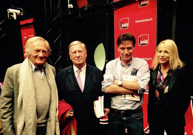 Philippe Tesson, Alain Duhamel, Philippe Richelle et Laure Adler