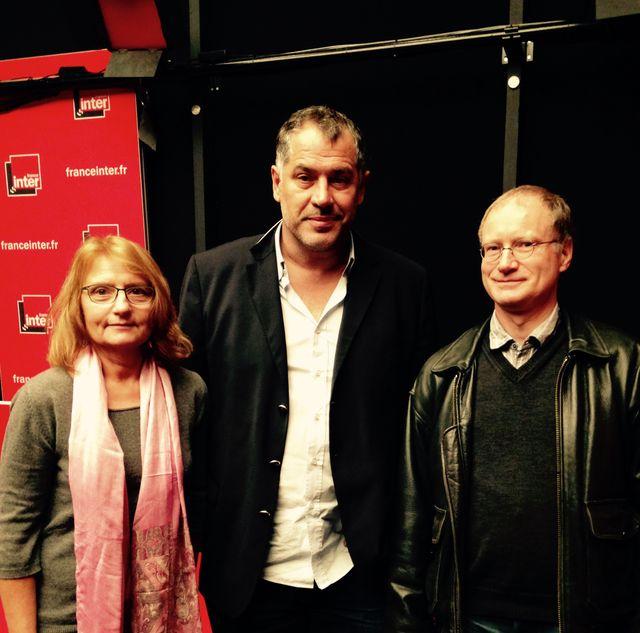 Martine Tabeaud, Luc Jacquet et Sylvestre Huet